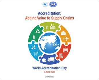 World Accreditation Day 2019: Adding Value to Supply Chains